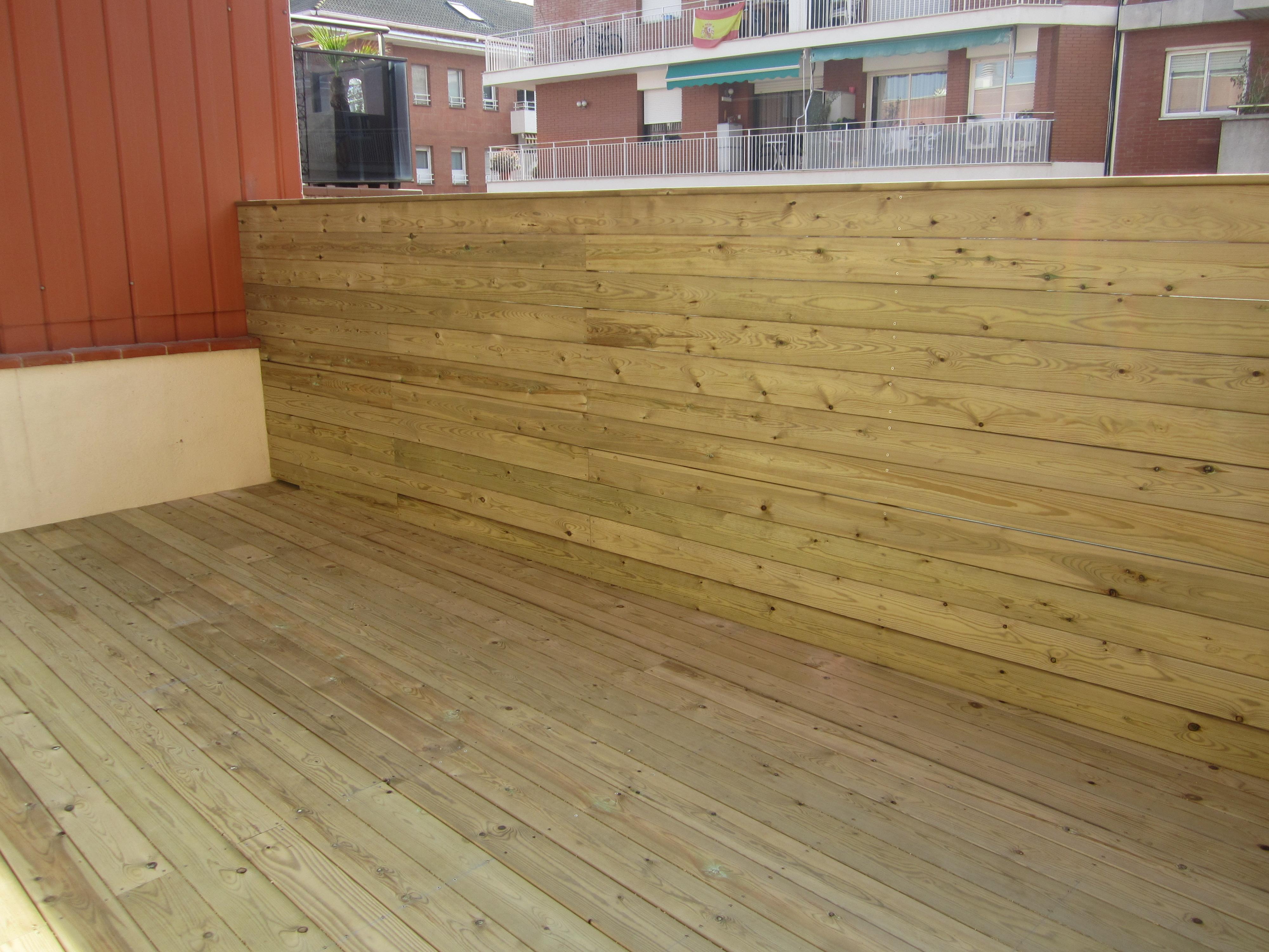 Tarima de madera pino tratado exterior