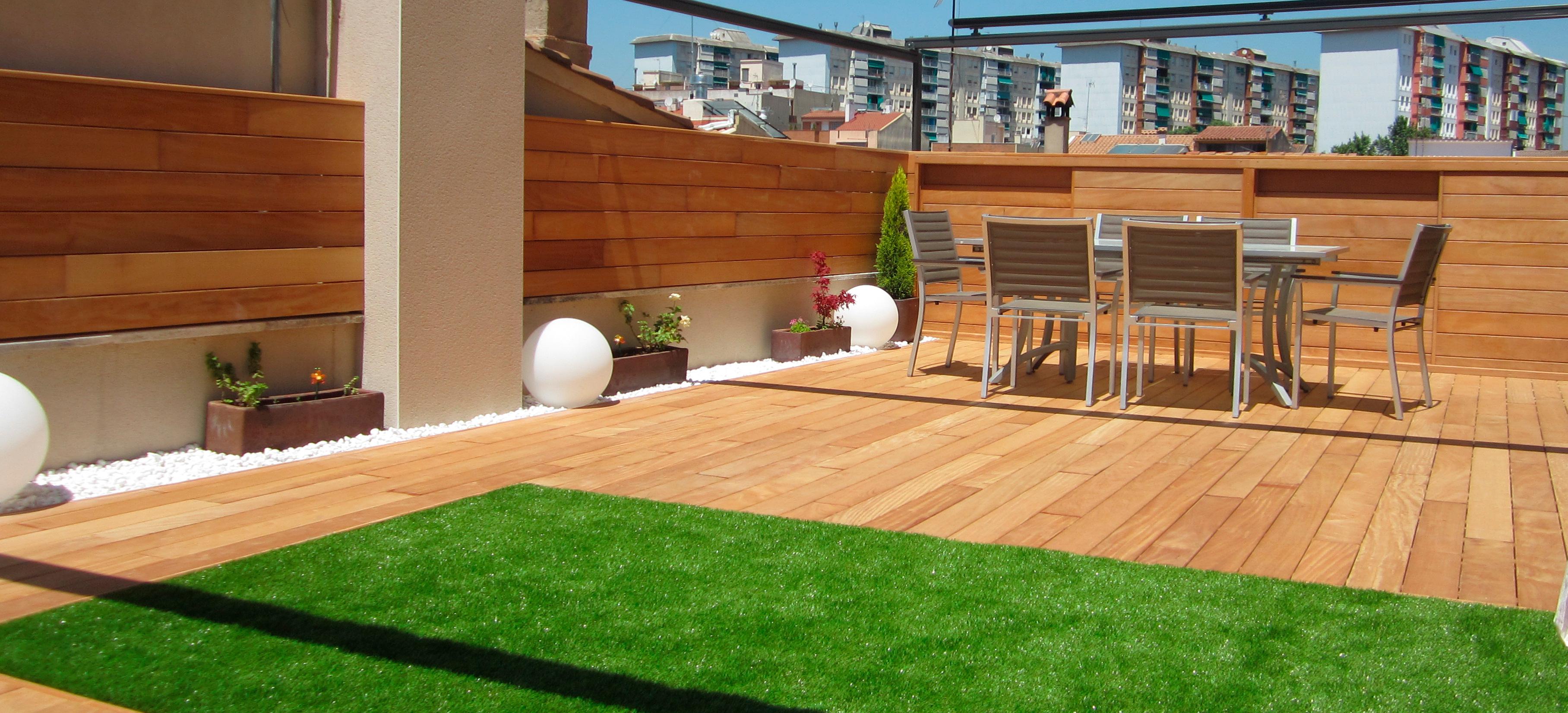 Dise o de terrazas en barcelona decoraci n ticos - Diseno de terraza ...
