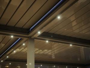 pérgolas bioclimaticas iluminación led